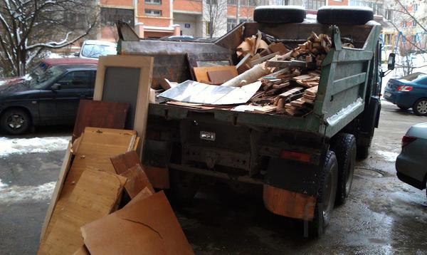 Уборка, вынос, вывоз строительного мусора на свалку