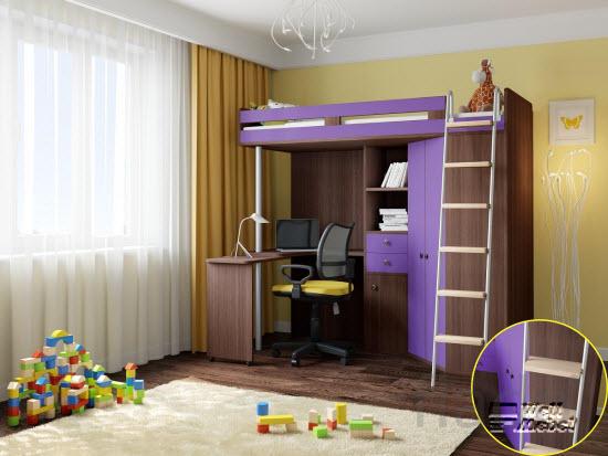 Детская кровать M-85