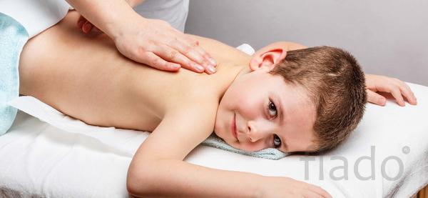 Детский массаж от 3-х лет.