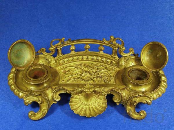 Чернильный прибор 19 века.Антиквариат в Ульяновске.Выбрать подарок