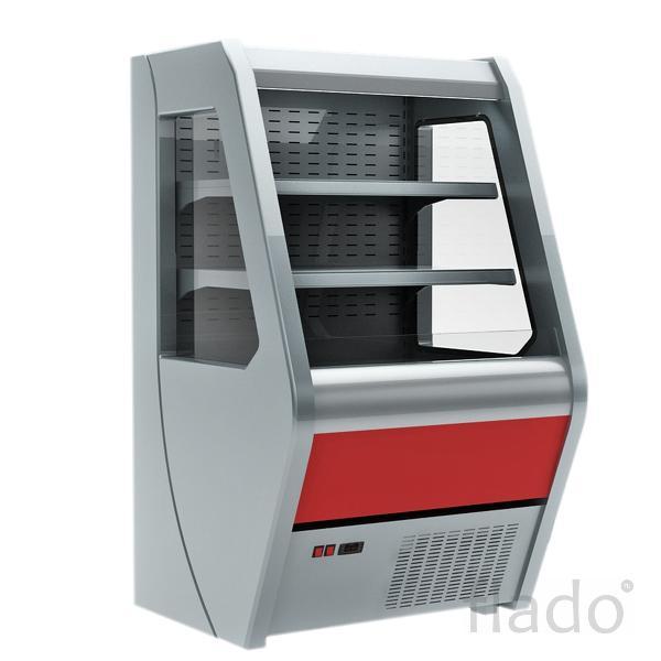 Витрина холодильная полувертикальная Carboma 1260/700 ВХСп-1,0