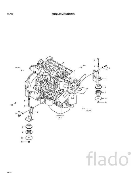 11Z1-00030 Двигатель в сборе Hyundai  SL763