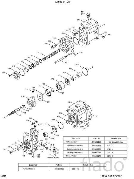 31N9-10010 основной гидравлический насос Hyundai R320LC-7