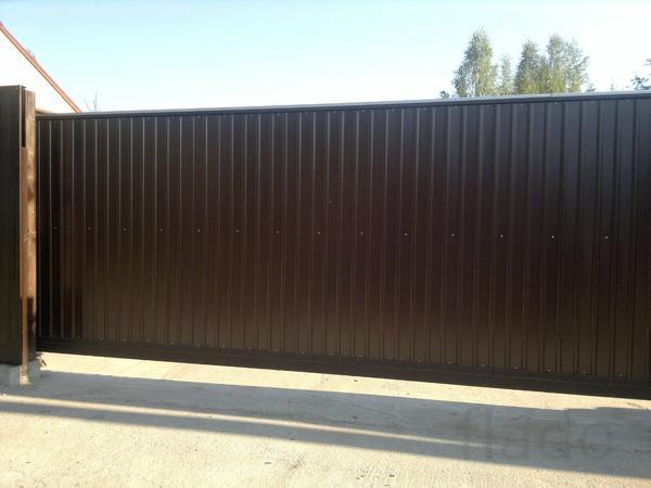 Ворота откатные 5,0 на 2,0 м