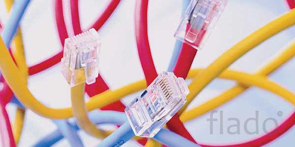 Обжим коннекторов (rj45). Настройка Wi-Fi роутера - 350 руб.