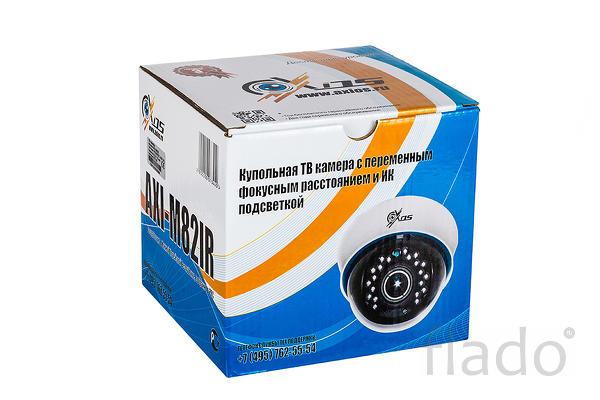 AXI-M82IR AHD- Купольная 1 мп камера 2.8-12 мм. Цена-качество