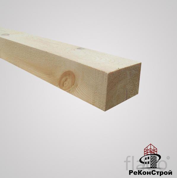 Брусок естественной влажности Сосна,  50x50 мм