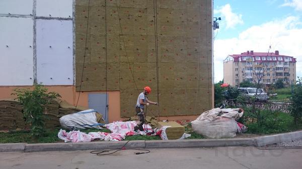 Монтаж и демонтаж фасада (утепление, ремонт, облицовочные работы, проч