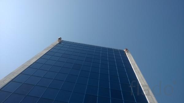 Мойка окон и фасадов здания