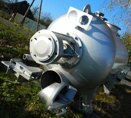КВМ-4.6 м для утилизации переработки биоотходов