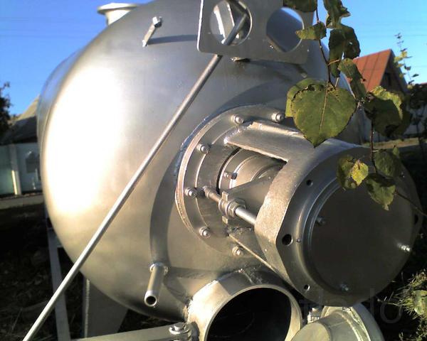 Котлы паровые вакуумные КВ-4.6 для переработки биоотходов