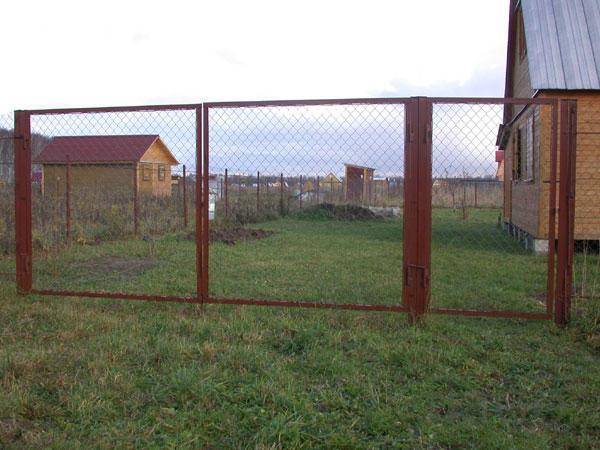 Садовые ворота и калитки.