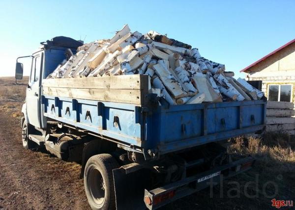 Доставка колотых березовых дров