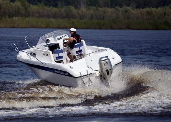 Купить катер (лодку) Бестер 570 (Посейдон)