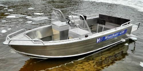 Купить лодку (катер) Wyatboat 430 DC ал