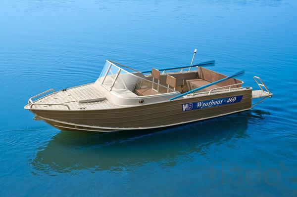 Купить лодку (катер) Wyatboat 460