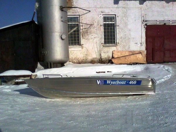 Купить лодку (катер) Wyatboat 460 P