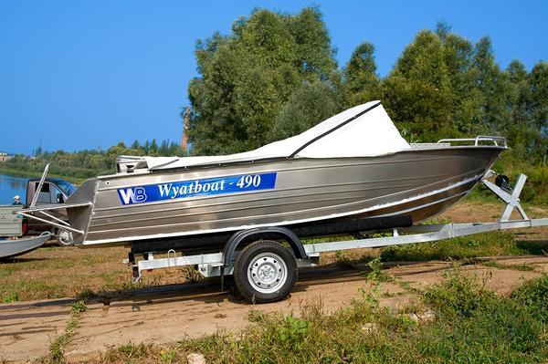 Купить лодку (катер) Wyatboat 490