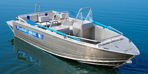 Купить лодку (катер) Wyatboat 490 DC