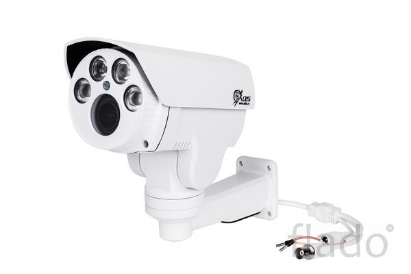 Поворотная уличная 2 мп AHD камера с трансфокатором 2. 8-12 мм