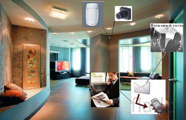 Установка видеонаблюдения под ключ (проф. бригада)