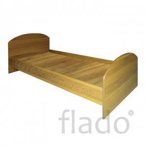 Кровать ДСП       ( цвет венге, дуб молочный, остальные под заказ)