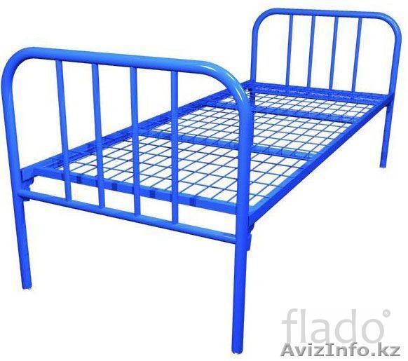 Раскладушки, Кровати металлические для строителей, студентов