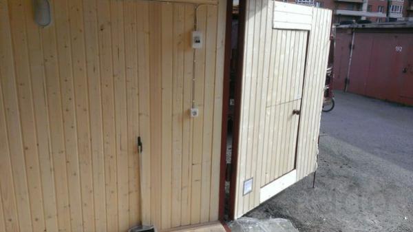Деревянный гараж 6х4