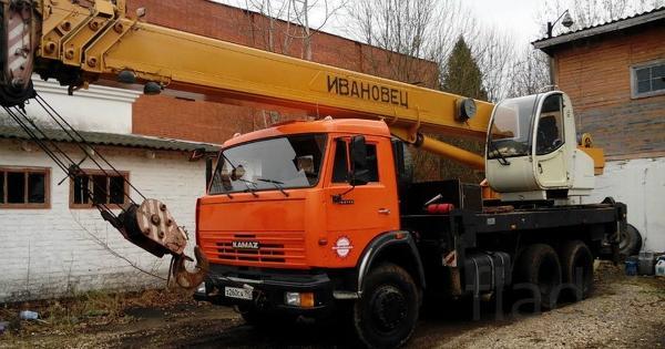 Автокран Ивановец 25 тонн + 30 метров