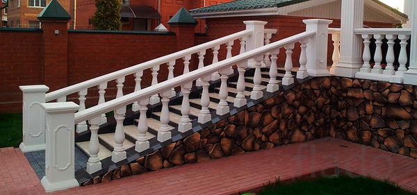 ограждение балкона  www.sozidanie39.ru