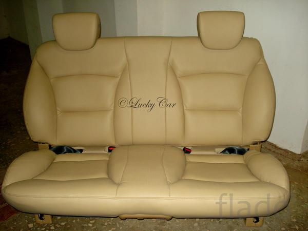 Изменение формы сидений, подголовников.