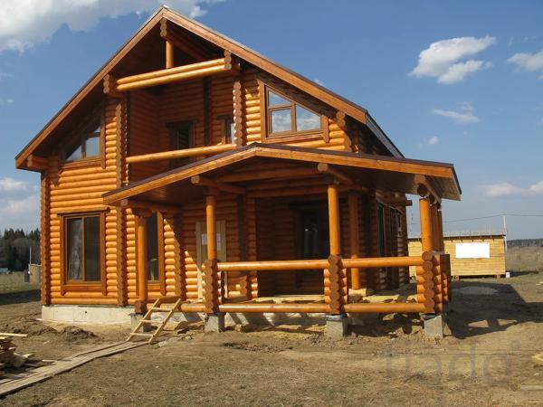 Дома и коттеджи из клееного бруса под ключ, проекты и цены