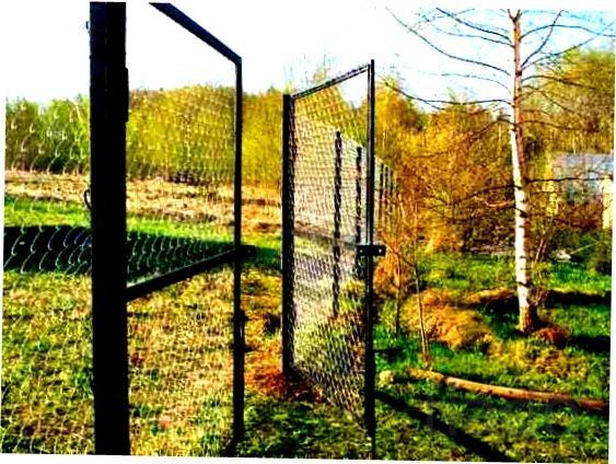 Ворота, калитки, столбы,сетка. Суздаль