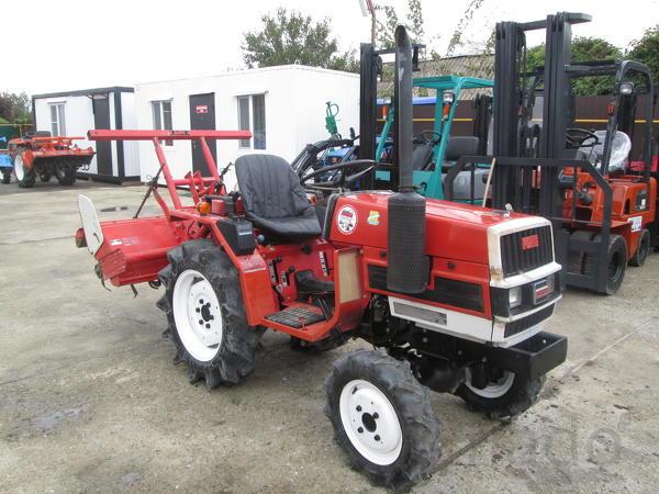 Японский мини трактор Yanmar