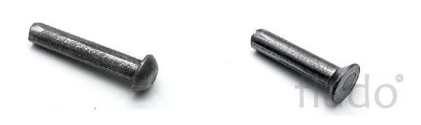 Заклепка стальная алюминиевая Ф 3 Ф36 ГОСТ 10299 ГОСТ 10300.