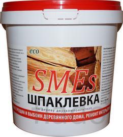 Шпаклевка по дереву SMEs.