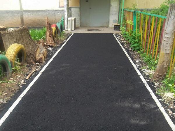 Строительство и ремонт дорожного покрытия