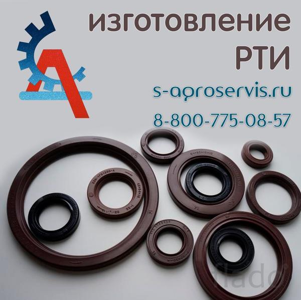 Изготовление резиновых манжет для нефтяных труб.