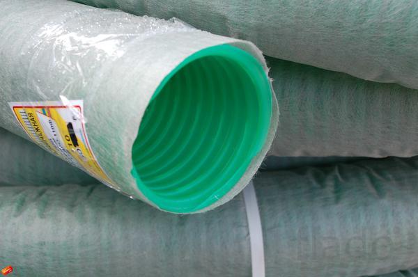 Дренажные полиэтиленовые трубы с фильтром