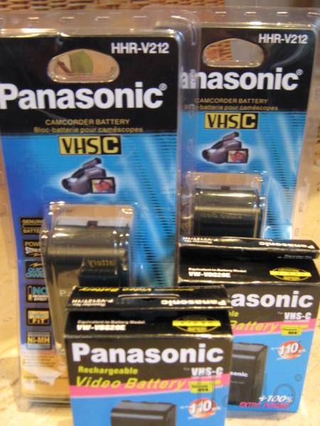 Аккумулятор батарея Panasonic HHR-V212 / VSB0200 / P-V212