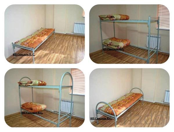 Кровати металлические эконом класса. Самара