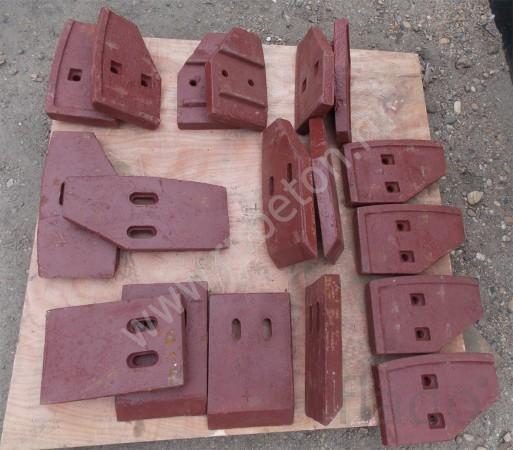 Лопатки бетоносмесителя РБУ JS500