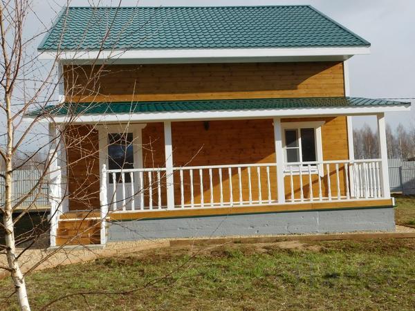Дом 155 м² на участке 14 сот.