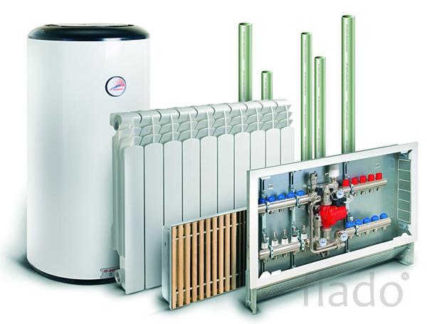 Монтаж систем отопление, водоснабжение.