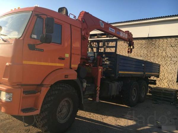 Перевозка грузов манипулятором вездеходом