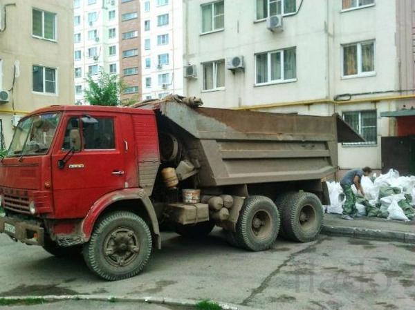 Из квартир, домов, дач, коттеджей вывоз мусора
