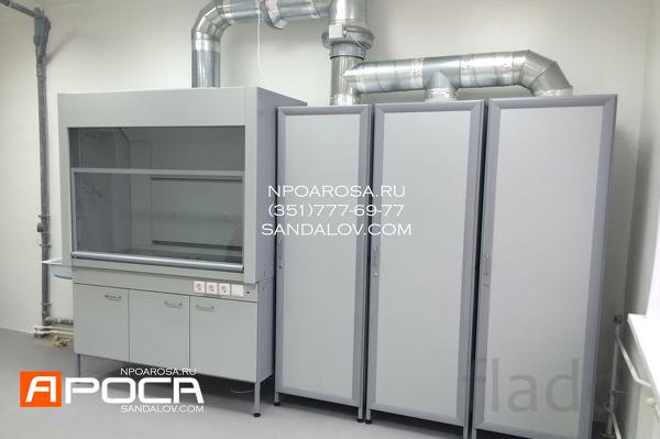 Шкафы лабораторные вытяжные серии ШВ-200