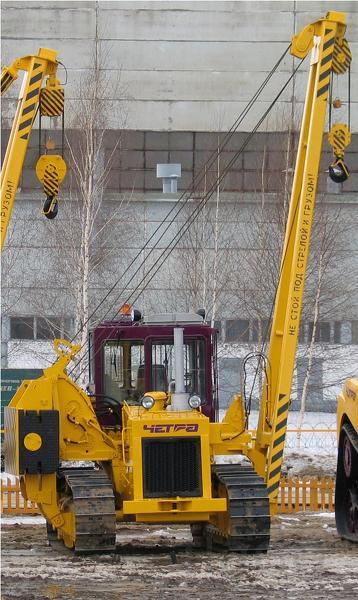 Кран- трубоукладчик ЧЕТРА ТГ-122 г/п 20-25 тонн в Самаре