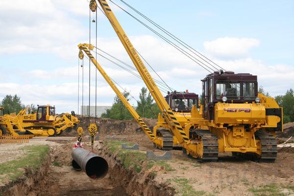 Гусеничный трубоукладчик ЧЕТРА ТГ-222 г/п 25-30 тонн в Белгороде