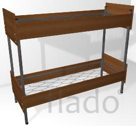 Кровати двухъярусные,кровати металлические эконом класса на стройку